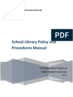 Library Policy and Procedures Manual