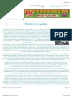 PintorConPalabraCharles Baudelaire