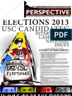 UPLB Perspective Elections 2013 USC Candidates Interview on Campus and National Issues