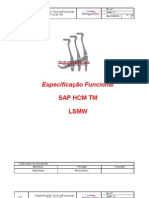 SAP HCM TM - LSMW