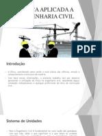 Física Aplicada a Engenharia Civil