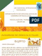 Presentación trabajo II. Egipto