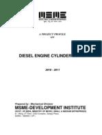 Diesel Engine Cylinder Block