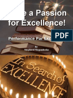 Have a Passion for Excellence!