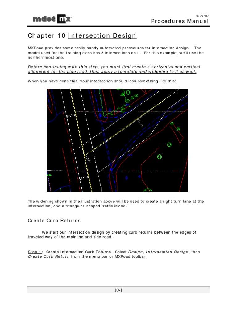 MXch10 | Intersection (Road) | Traffic