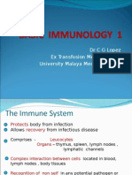 Immunology in Haematology (part 1)