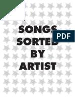 The Rhyme Along - Hip Hop Karaoke LA Songlist 2013