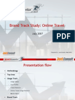 Brand Track Report - Online Travel July 2007