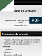 Procesador Lenguajes