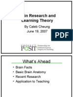 Caleb Cheung - Brain Research and Learning