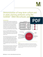 Demonstration of long-term culture and in-plate staining protocols using the CellASIC™ ONIX Microfluidic platform