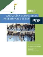 Axiología y Competencia Profesional del Educador Físico