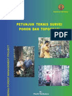 Juknis Survey Pohon Dan Topografi