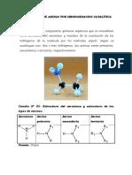 Preparacion de aminas por hidrohenacion catalítica