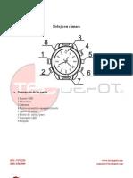 Manual Reloj Con Camara 6079c
