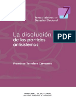 7.- Francisco Torlero_La Disolucion de Los Partidos Antisistemas
