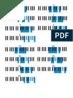 Escalas de Piano (Normales)