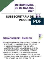 Situacion Economica Del Estado de Oaxaca 2007. 2