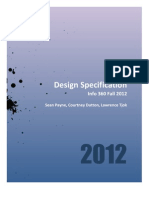 Design Specification Final