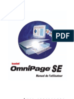 Omnipage User's Guide (French)