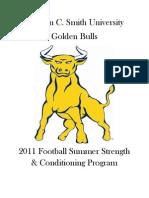 2011 JCSU Summer Wgt Program