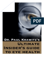 Dr Paul Krawitz - Ultimate Insiders Guide to Eye Health