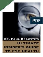 Dr Paul Krawitz - Ultimate Insiders Guide to Eye Health