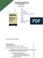 25325990 Enrique Dussel Hipotesis Para Una Historia de La Iglesia en America Latina