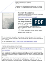 Tourism Potential of Agricultural Heritage Systems