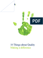 10 Things About Quality 211009