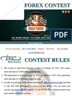 Rally Trade 2013 Forex Contest