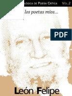 Cuaderno de Poesia Critica n 2 Leon Felipe