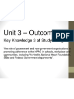 key knowledge 3 federal and state government pa initiatives