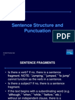 AE1. Sentence Structure & Punct