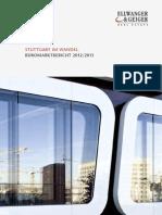 Bueromarktbericht Stuttgart 2012 2013