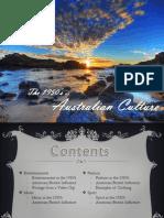 The 1950's - Australian Culture