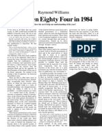 86673641 Nineteen Eighty Four in 1984 Raymond Williams