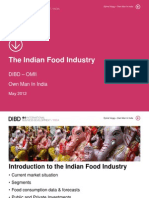 The Indian Food Industry 2012