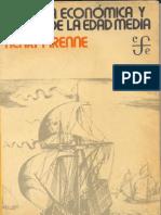 4 Henry Pirenne Historia Economica y Social de La Edad Media 090606204859 Phpapp01