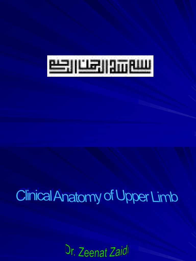 16-Clinical Anatomy of the Upper Limb   Shoulder   Musculoskeletal ...