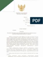 Surat Edaran Menteri Dalam Negeri No.660 Tentang Pedoman Pengelolaan Program Percepatan Pembangunan Sanitasi Permukiman PPSP Di Daerah