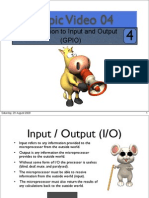 Topic04 Introduction to Input and Output (GPIO) with Freescale MC9S12X.