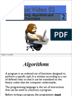 Topic02 Programming, Algorithms and Flow Charts