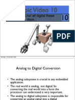 Topic10 Introduction to the Analog to Digital Subsystem on the Freescale MC9S12X.