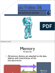 Topic06 Introduction to Memory
