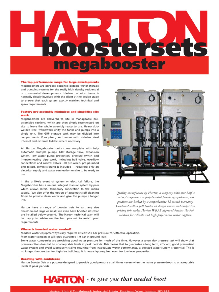 Mega Booster Pump Water Supply Network Pressure Switch Should Only Be Done On The S