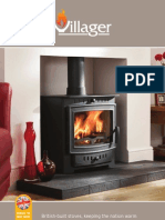 Villager High Efficiency Multifuel  Wood Stoves