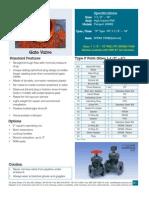 AA TypeP GateValves