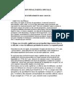 DREPT PENAL PARTEA SPECIALÃ intreb+teorie