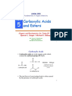 Carboxylic Acid by